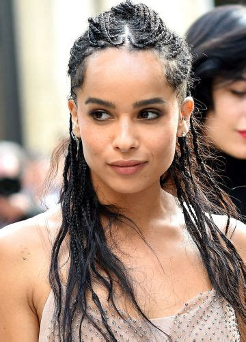 black braids for women over 30 9 zoe kravitz hairstyles long braided pixie haircut