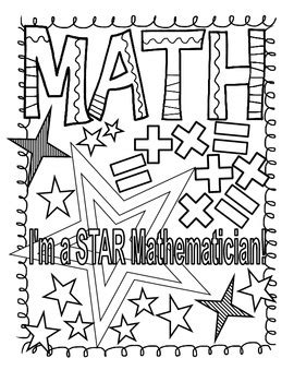 math journal coloring page math and reading doodle coloring pages by heather jackson