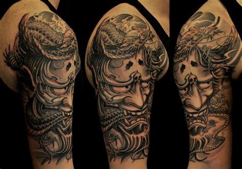 hannya mask tattoo designs hannya mask designs japanese sleeve