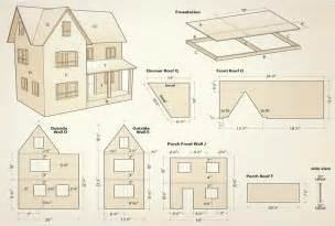 dolls house plans doll house plans numberedtype