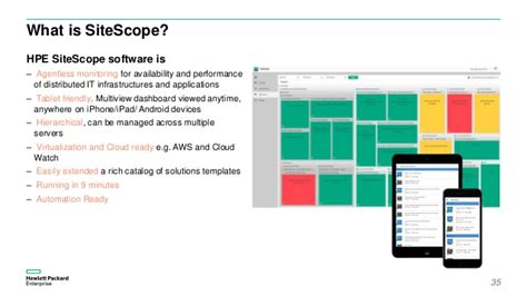 Sitescope Templates by Application Performance Management 9 30 Hpe Whats New