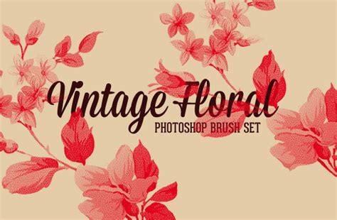 floral pattern brush photoshop vintage floral photoshop brush set