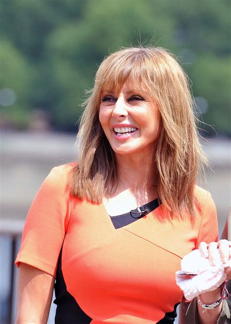 Carol Set carol vorderman on the set of hawtcelebs