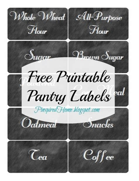 printable pantry labels pinspired home pantry challenge part 2 and free printable