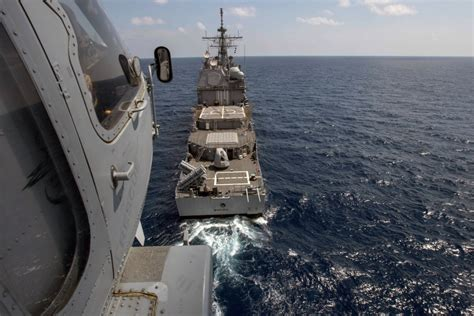Navy Search Navy Calls Search For Sailor Who Fell Overboard Near