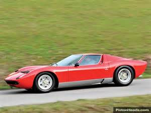 1969 Lamborghini Miura P400s For Sale View