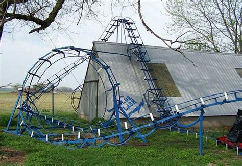roller coaster for backyard a backyard rollercoast that will blow your mind diy