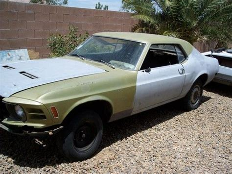 used 1970 mustang parts sell used 1970 ford mustang v8 project car parts car p