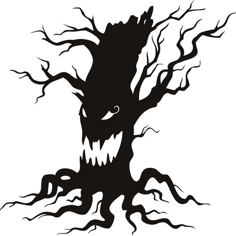 Tree Wall Art Stickers scary art pictures free download clip art free clip