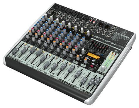Mixer Behringer Xenyx 8 Channel Behringer Qx1222usb 8 Channel Mixer