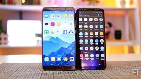 huawei vs samsung battery samsung galaxy s9 vs huawei mate 10 comparison battery test