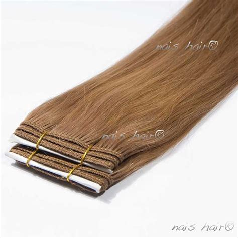 8 inch hair extensions weft hair extensions 8 light brown 24 inch