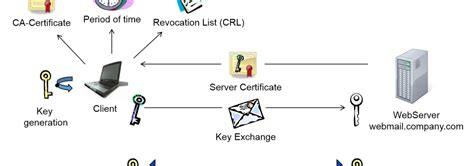 Process Of Pki In Cyber Security For Mba by Key Infrastructure Digital Certificates Https Ssl