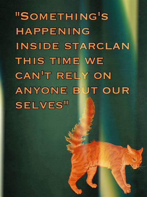 march forward from warrior to rock nine books 17 best images about warrior cat comics quotes