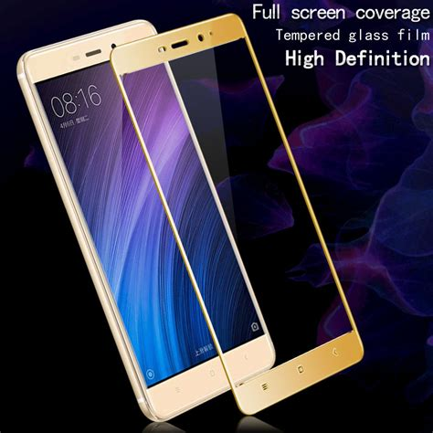 Tempered Glass Warna 3d Xiaomi Redmi 4 Prime Anti Gores Kaca 1 front screen protector for xiaomi redmi 4 pro