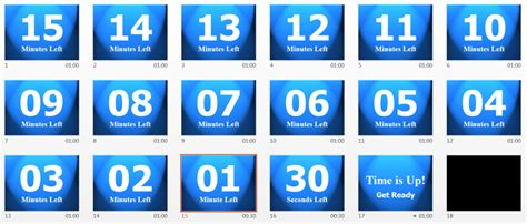 Create Or Download A Powerpoint Countdown Timer Powerpoint Timer Free
