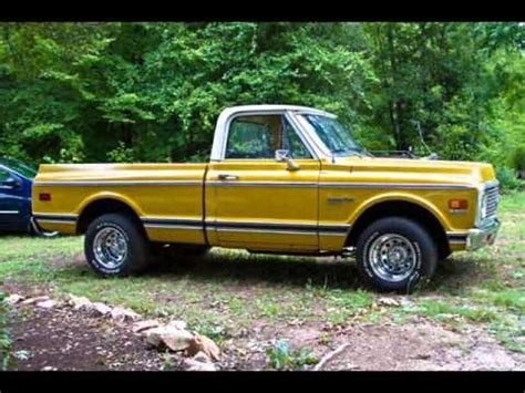 67 72 chevy and gmc pickups youtube