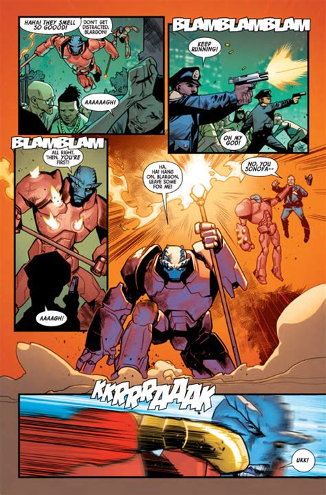 The Totally Awesome Vol 3 Big Apple Showdown Marvel Ebook exclusive marvel previews prevue the totally awesome 16 previews world