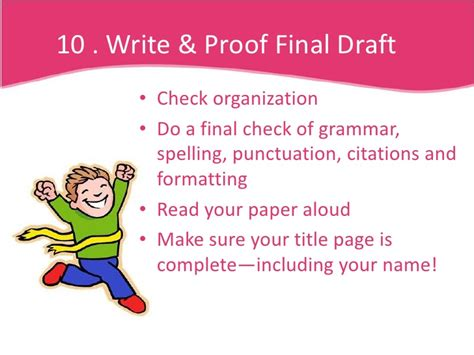10 steps to writing a research paper 10 steps to writing a research a paper