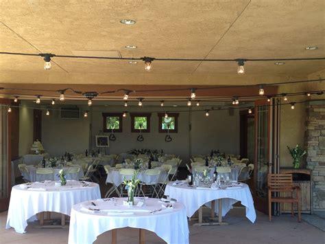 indoor outdoor wedding reception arrowood golf