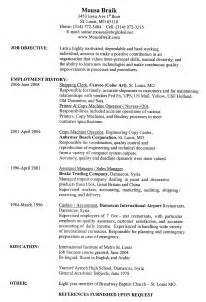 resume template best cv format in word how to do