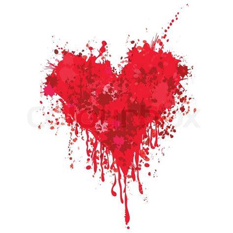 blood paint grunge vector ink blood paint drip splash splatter graffiti background