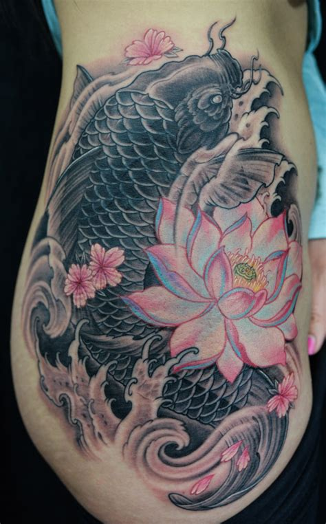koi fish rib tattoo 42 mind blowing koi tattoo designs exles sheideas