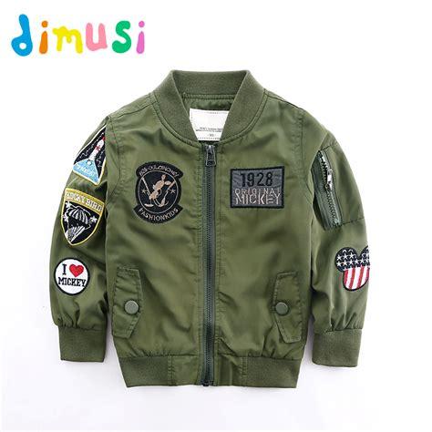 Jkt Bomber Boy dimusi jackets for boy coat army green bomber jacket boy s windbreaker autumn jacket