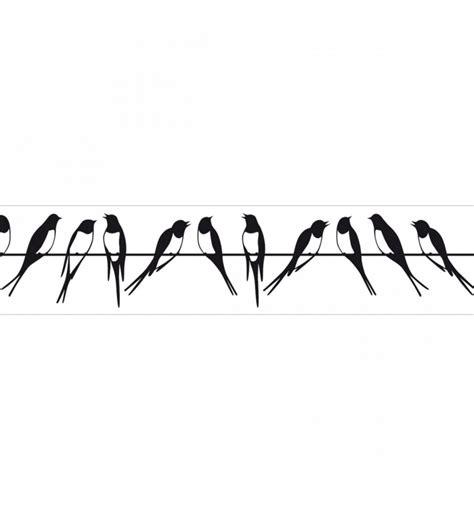 dibujos cenefas cenefa golondrinas en el tendido el 233 ctrico blanco y negro