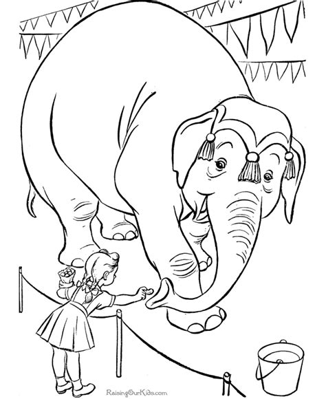 circus elephants coloring pages circus elephant coloring pages gt gt disney coloring pages