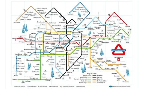 morzine france map underground tube maps  ski resorts