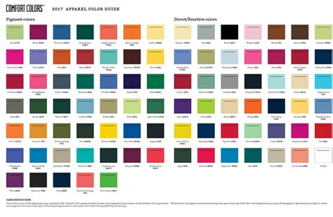 comfort colors color swatch what s your quot comfort color quot