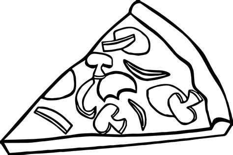 coloring pages for pizza coloring page pizza free draw to color