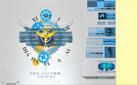 microsoft themes celestial celestial being project 00 by gakuseijimichan on deviantart