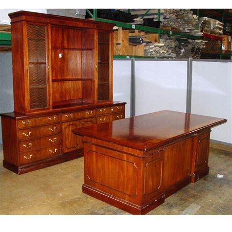 Used Executive Office Desks Dallas Office Furniture Traditional Used Desk Set Office