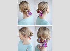 Best 25+ Scarf bun ideas on Pinterest | Hair scarf styles ... Box Braids With Bandana