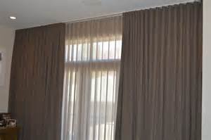 Commercial Drapery Ripplefold Sheer And Blackout Spruce Interiors