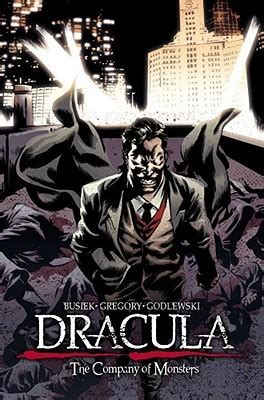 valentino of a legend books graphic novel review dracula the company of monsters