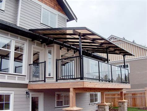 Portable Awnings For Decks by Aluminum Awnings For Decks Home Design Ideas