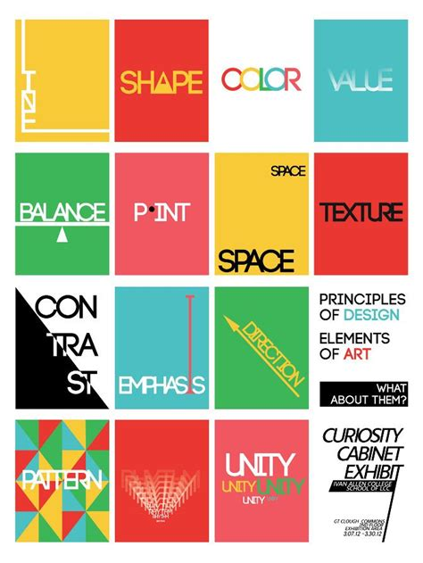 design elements three elements and principles art projects google search