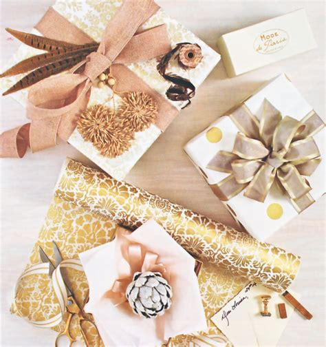beautiful christmas wrap beautiful gift wrap ideas and embellishments simplified bee