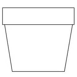 flower pot coloring page diy mini flower garden pots coloring flower and clip
