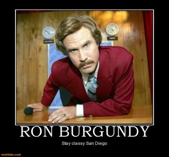 ron burgundy quotes inspirational. quotesgram