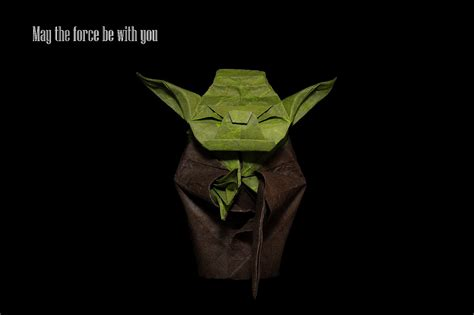 Origami Jedi Master Yoda - the world s best photos of jedi and origami flickr hive mind