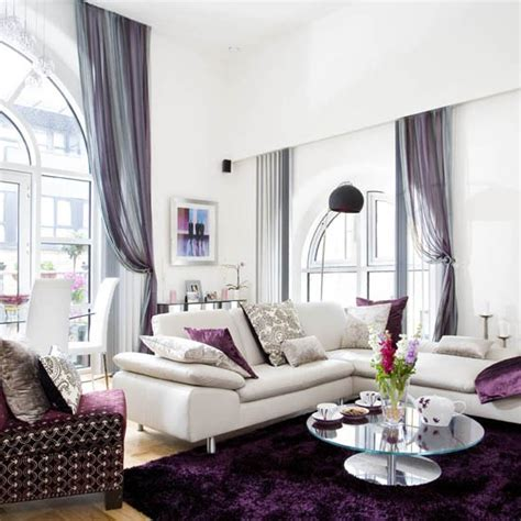 purple accessories for living room living room be inspired by this new york style loft apartment housetohome co uk