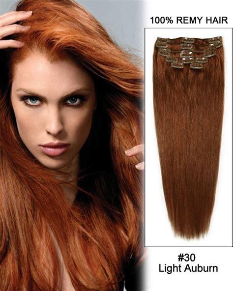 auburn hair extensions light auburn weave 18 30 light auburn weave 100