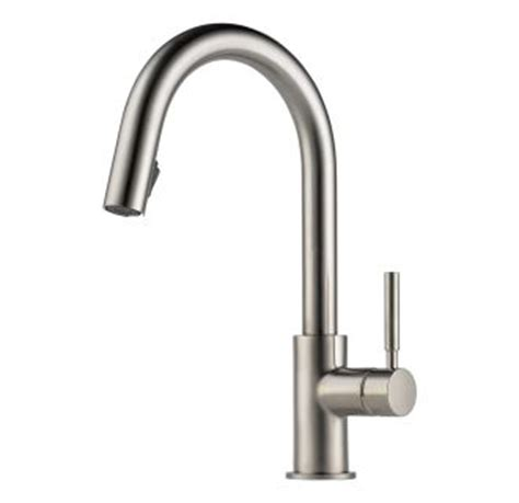 magnetic kitchen faucet faucet com 63020lf ss in brilliance stainless by brizo