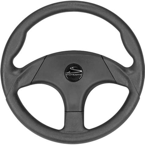 boat driving wheel schmitt marine steering hardgrip steering wheel west marine