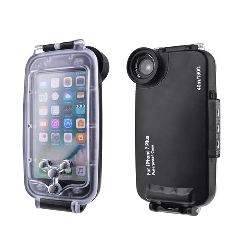 sea 40m waterproof underwater diving phone cover for iphone 7 plus 7 ebay
