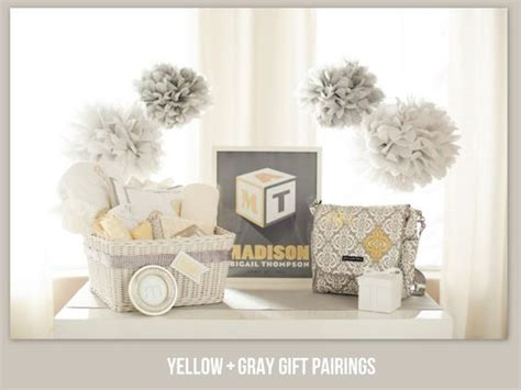 yellow baby shower yellow and gray pottery barn kids pottery barn kids kid and pom poms on pinterest